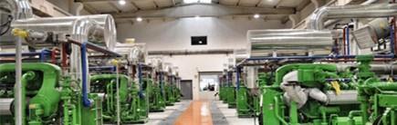 Odayeri Çöp Gazindan Enerji Üretimi Gaz Motorlari